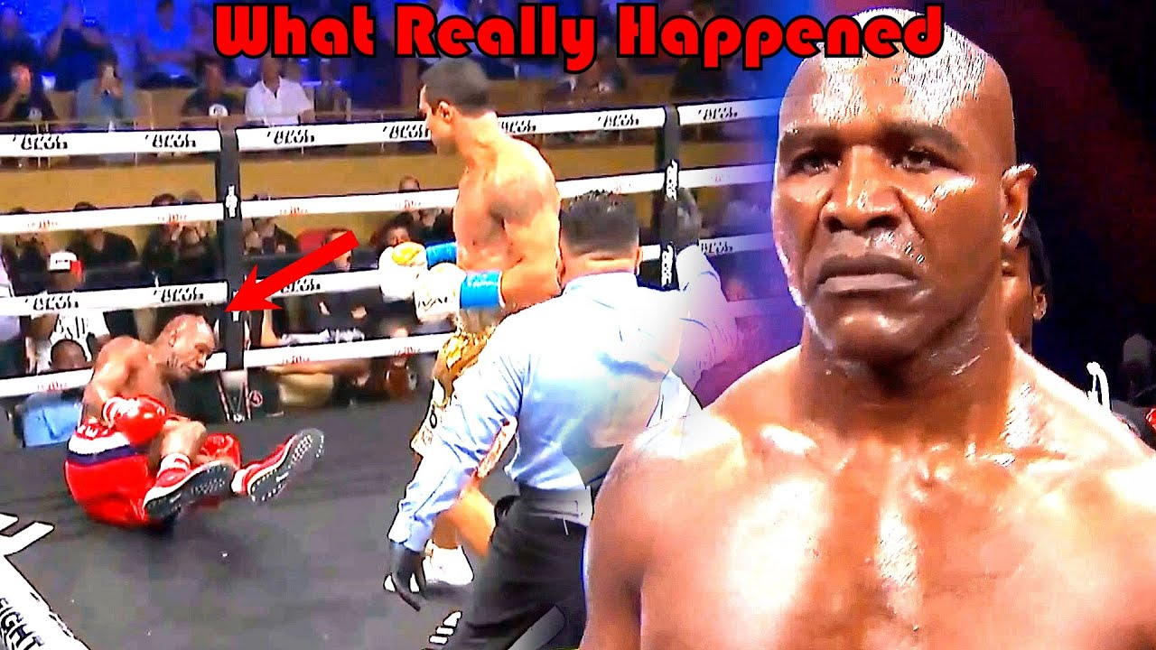 Boxing: Evander Holyfield vs Vitor Belfort - This Really Shouldn't Have Happened...