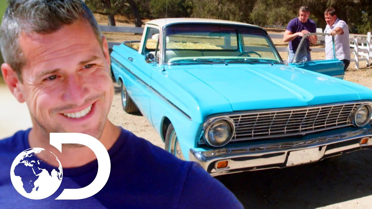 Ant makes a dirty old ford ranchero look good as new wheeler dealers