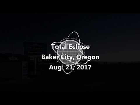 Total Eclipse - Baker City Oregon - Aug. 21, 2017