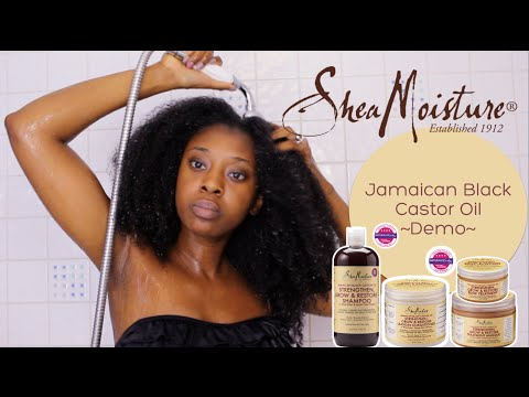 Demo| Shea Moisture's Jamaican Black Castor Oil Range
