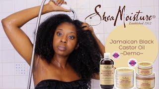 Demo| Shea Moisture's Jamaican Black Castor Oil Range thumbnail
