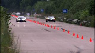 Moscow Unlim 500: Ford GT-1000 vs Corvette ZR1