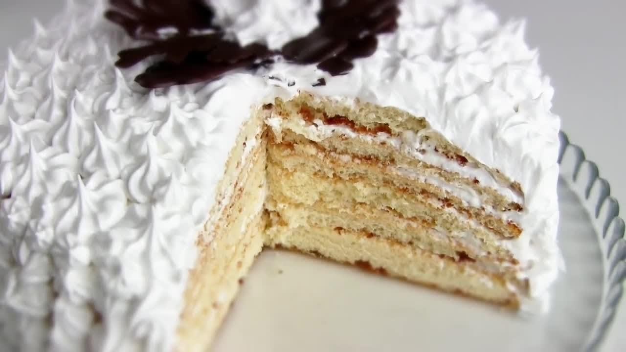 молочная девочка торт от бабушки эммы видео рецепт