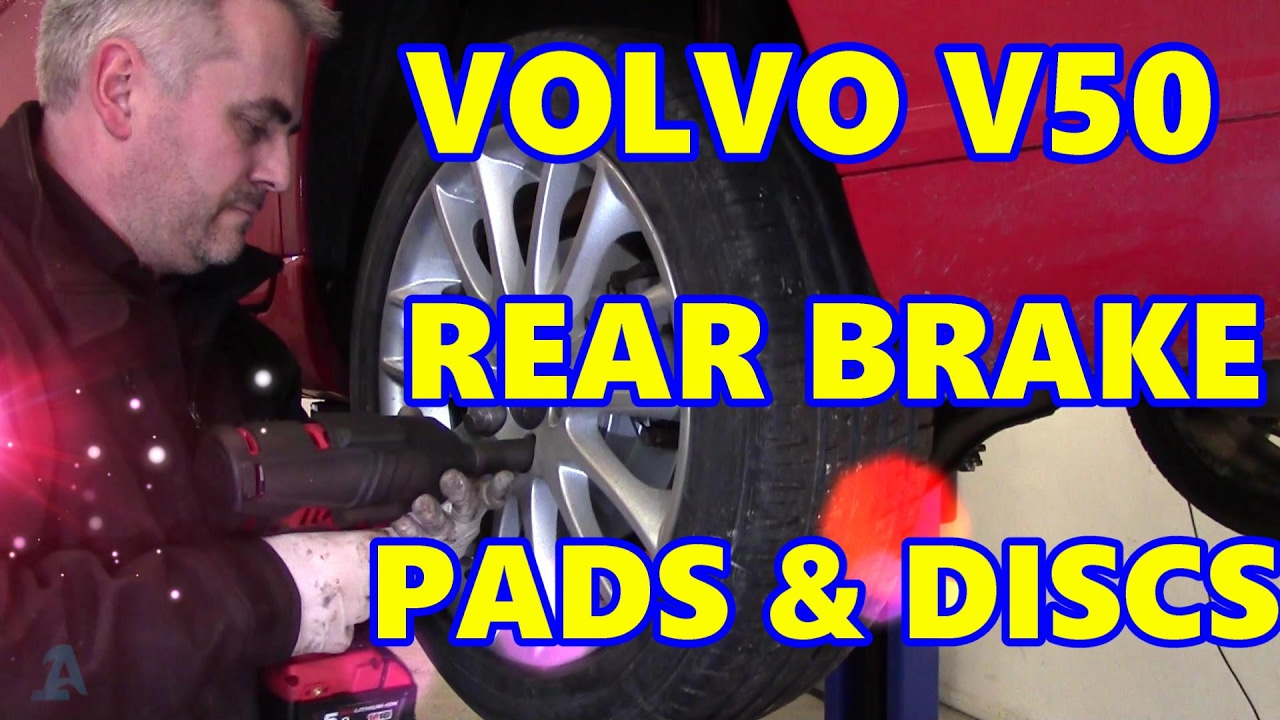 For Volvo C30 S40 V50 C70 Set of Front Left /& Right Brake Disc Rotors /& Pads