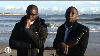 Portrait de Yannick Martin et Tangi Josset, les deux frères sonneurs
