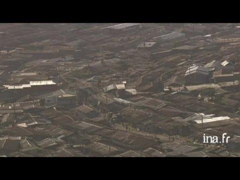 Kenya : bidonville de Kibera à Nairobi