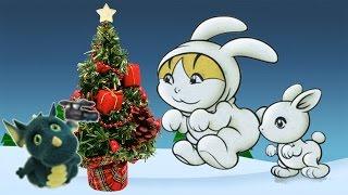 """Новогодний танец зайцев и других зверей. Муз. рук. Максюта Г. В.Д.с. """"Росинка""""."""