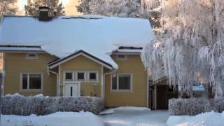 Finland. iisalmi. winter pictures