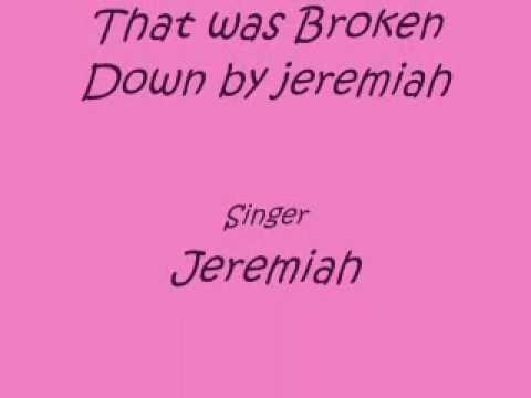 jeremih Broken Down lyrics