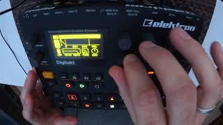 Dapayk & the Elektron Digitakt (one loop, live programming, 20mins progression)