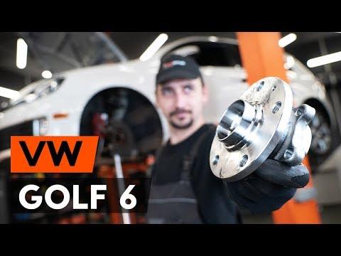 Как заменить передний подшипник ступицы VW GOLF 6 (5K1) [ВИДЕОУРОК AUTODOC]