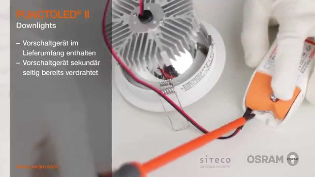 Osram Led Leuchten Osram Led-leuchten Essentials - Punctoled Ii - Youtube