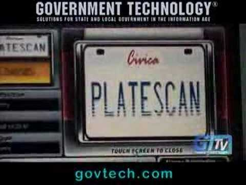 Cops Use Scan Technology to Read Your License Plates