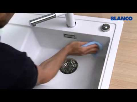 how to clean and care for a blanco silgranit puradur sink
