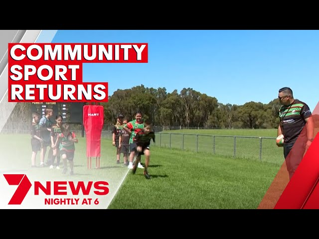 Sydney ovals and fields come alive during COVID pandemic | 7NEWS