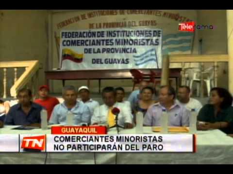 Comerciantes minoristas exigen diálogo con presidente Correa