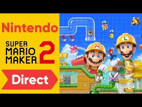 🔴 SUPER MARIO MAKER 2 DIRECT | Reacción y charla - Nintendo Direct 15-05-2019 - Krisouver