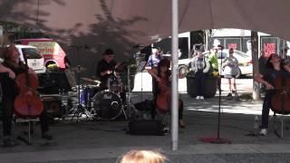 Cello Fury in Market Square Pittsburgh PA