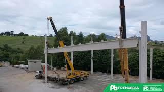 Viga protendida de 30 metros | Premobras Pre Fabricados