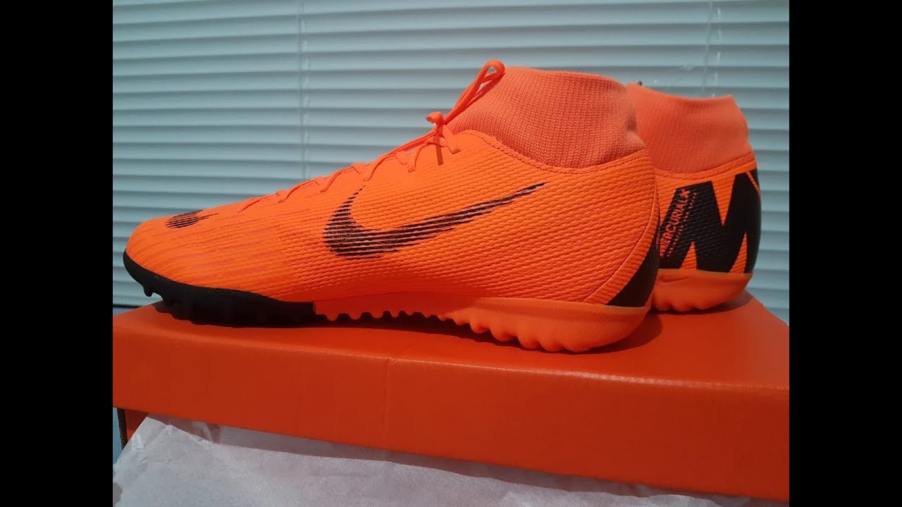 7c1fbb7c9 CHUTEIRA NIKE MERCURIALX SUPERFLY 6 ACADEMY SOCIETY - YouTube