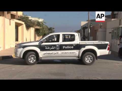 Rocket attack on UAE embassy in Tripoli; aftermath
