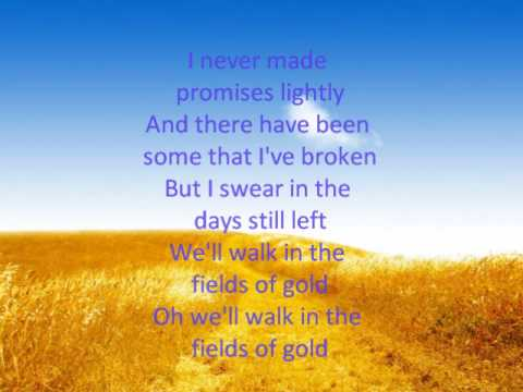 Fields of Gold lyrics