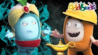 Oddbods | Magical Adventures Of The Genie | Funny Cartoon