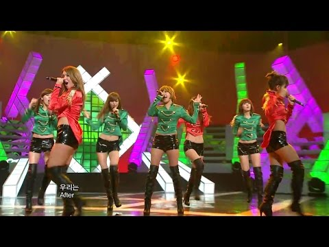 【TVPP】After School  BANG!, 애프터스쿨  뱅! @ Show Music Core
