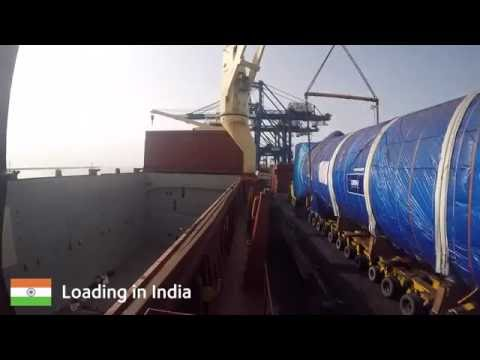 DSV Projects loading and discharging LNG Tanks