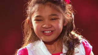 Suara Emas Angelica Hale Golden Buzzer From Chris Hardwick   America's Got Talent 2017