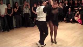 Melanie Torres' brother's salsa performance @ Dance on 2 Holiday Social: 12/17/10