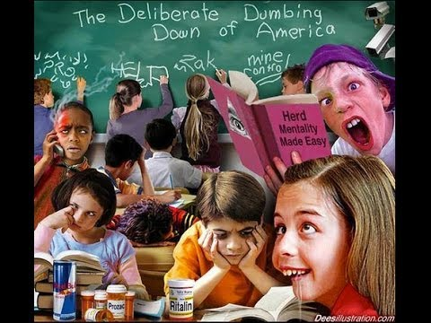 dumbing down america the decline of education I read (or started to read) the deliberate dumbing down of america by charlotte thomson iserbyt because a homeschooling association emailed me the free pdf (which is available on the interwebs) i gotta stop reading these books that homeschoolers love it's like they are trying to talk me out of.