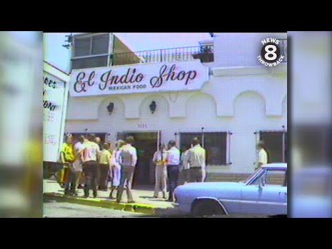 A trip to El Indio in 1978 - From tortilla factory to staple lunchtime restaurant in San Diego