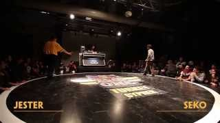 Jester VS. Seko - Red Bull BC One Turkey Cypher Final 2015 (Video)