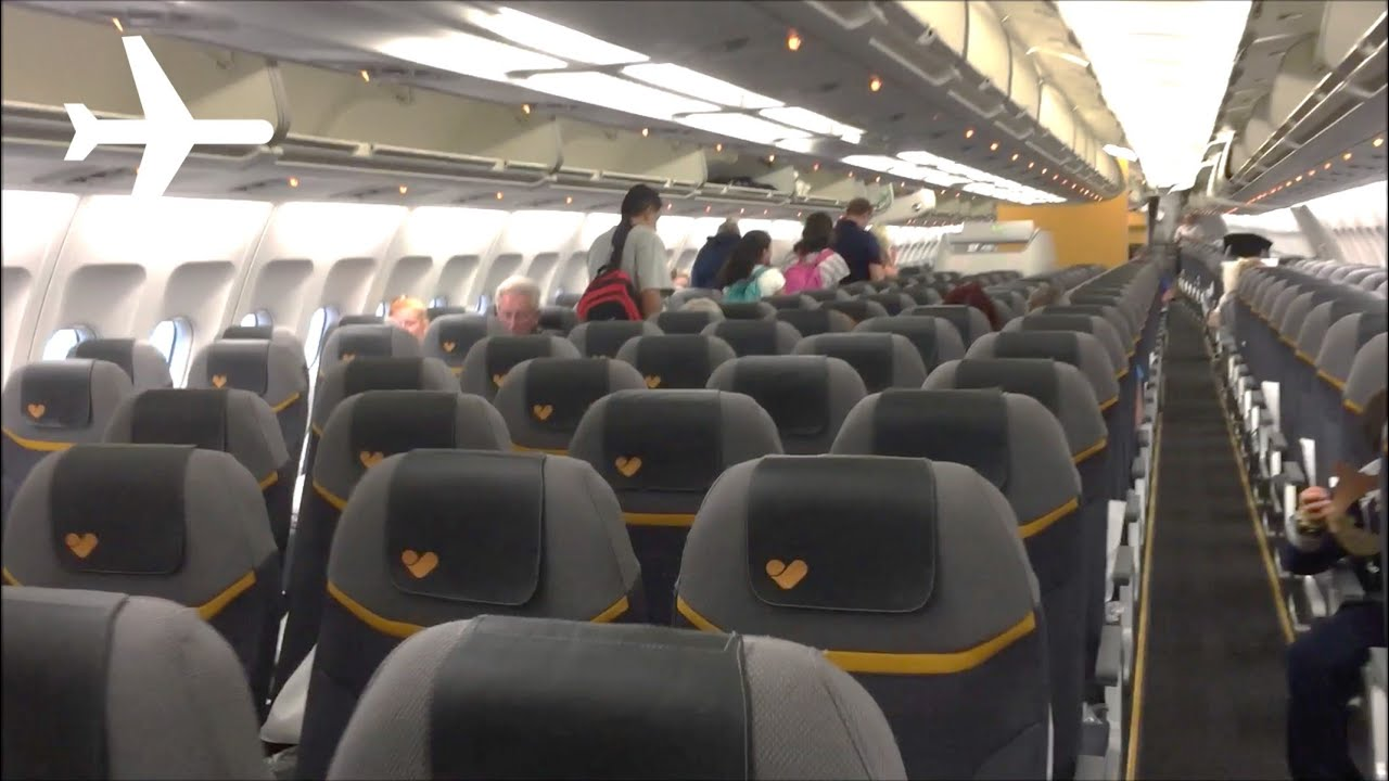 Thomas Cook New A330 200 Cabin Interior Onboard Review