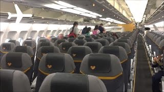 Thomas Cook New A330-200 Cabin Interior Onboard Review