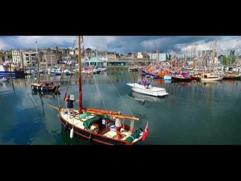 Viewhear Sutton Harbour Aerial