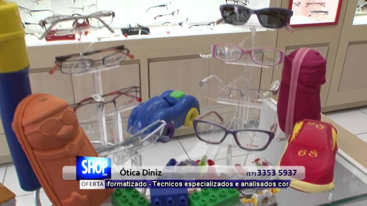 48cad85655ad4 ARMAÇÃO DE ÓCULOS EM RIO PRETO - ÓTICA DINIZ - S42 - YouTube