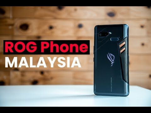ASUS ROG Phone Malaysia: What's in the box?