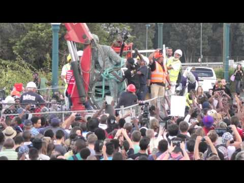 Cecil John Rhodes statue removed from UCT!