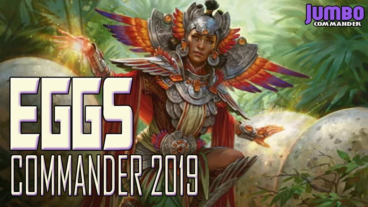 Eggs Commander 2019 Atla Palani Deck Tech Youtube