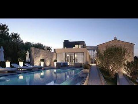 Planos de casas peque as con alberca youtube for Casas de campo pequenas con alberca