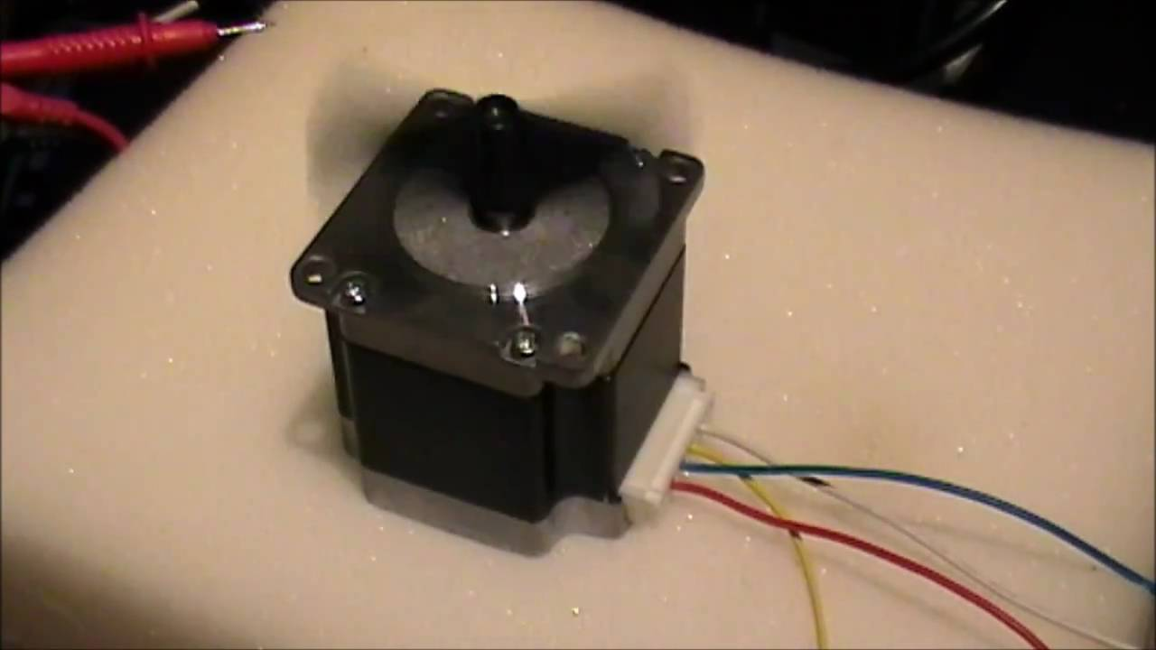 how to find maximum speed of stepper motor