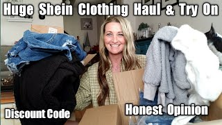 Huge Shein Winter Clothing Haul & Try On/ Discount Code