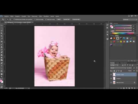 Mudando Cor Do Fundo Photoshop Cc - Fotografia