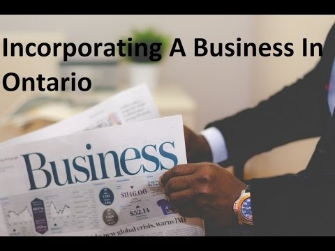 Incorporate A Business in Ontario In Under 15 Minutes