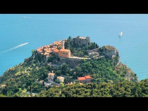 Èze, France, French Riviera [HD] (videoturysta)
