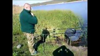 Риболовля на Зеленивке (Краматорськ) 03.05.2016