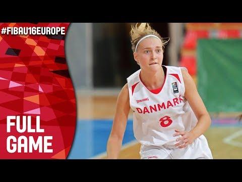 Denmark v Bosnia and Herzegovina - Full Game - FIBA U16 Women's European Championship 2017 - DIV B