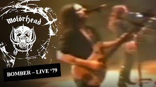 Motörhead live in '79 Order Bomber 40th anniversary edition : https://motorhead.lnk.to/1979ID Listen to Bomber : https://motorhead.lnk.to/bomberID Subscribe to ...